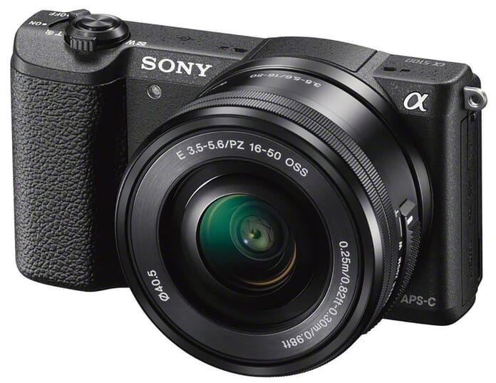 Sony mid-range mirrorless camera