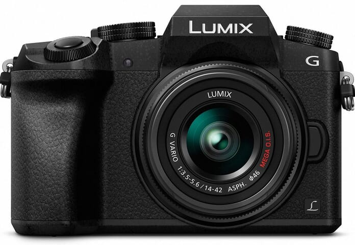 Panasonic mid-range mirrorless camera