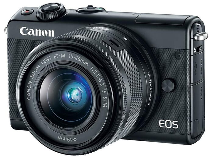 Canon mid-range mirrorless camera