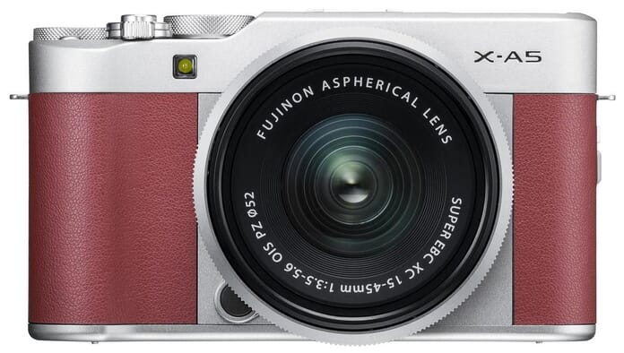 Fujifilm mid-range mirrorless camera