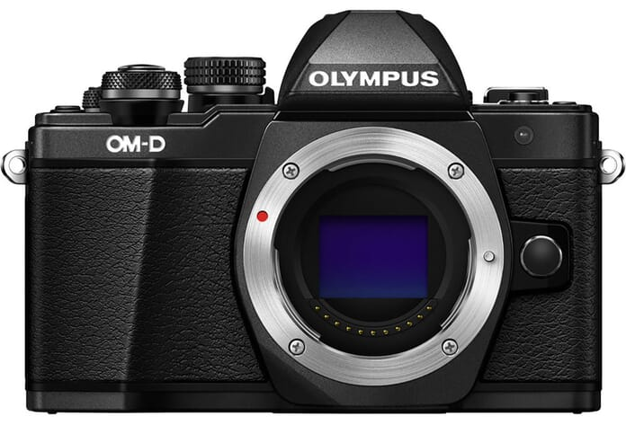 Olympus mid-range mirrorless camera