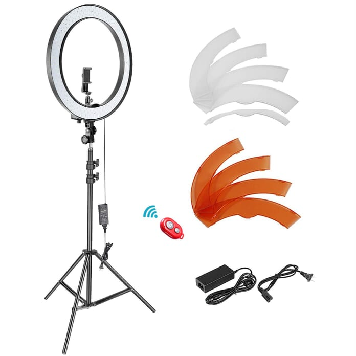 """Neewer 18"""" Ring Light for Portrait Photography"""