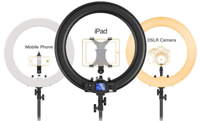 19 Pixel Ring Light for Portrait Photography