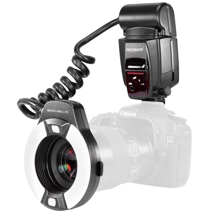 Neewer Macro TTL Ring Light for Macro Photography
