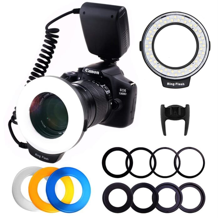 Ploture Ring Light for Macro Photography