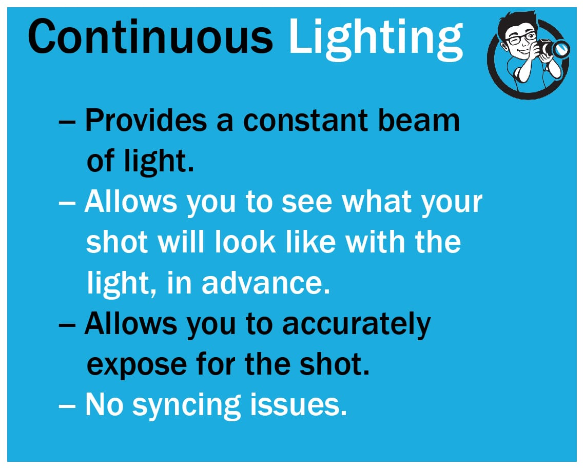 Continuous Lighting Ring Lights