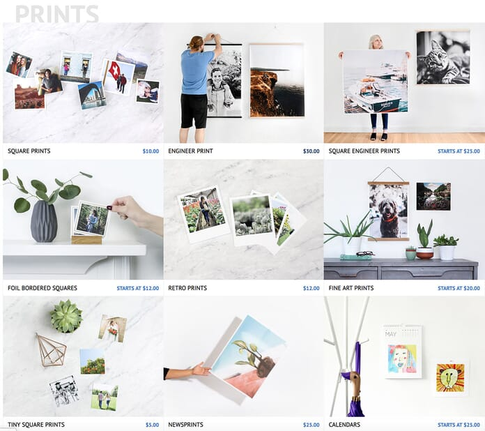 Parabo Press Print products