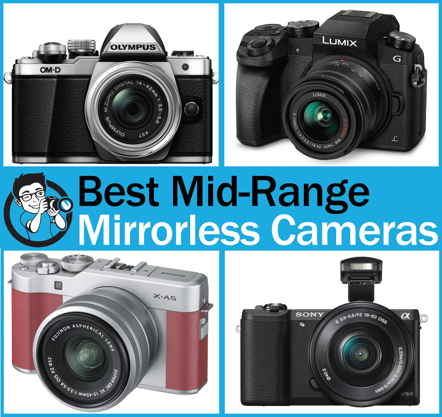 best mid range mirrorless cameras