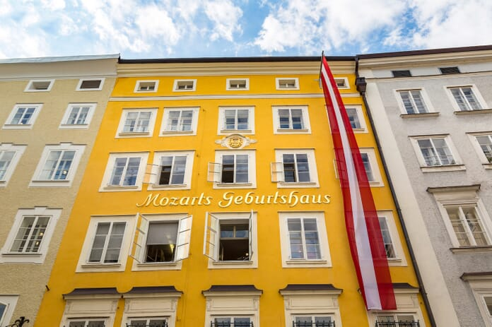 The Birthplace of Wolfgang Amadeus Mozart
