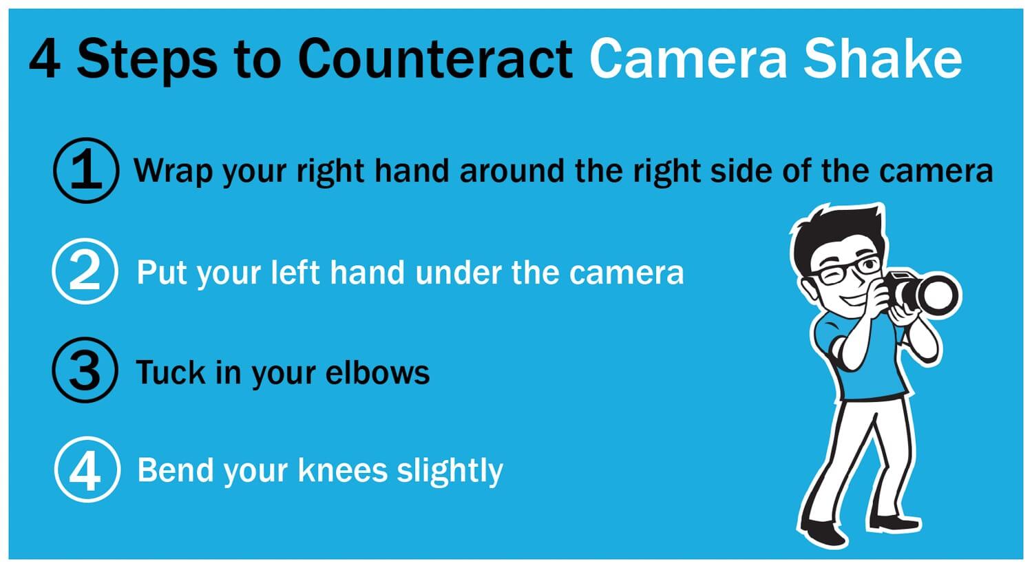 How to shoot sharp portraits camera shake