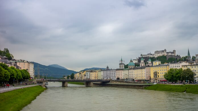 What to photograph in Salzburg - Salzach River