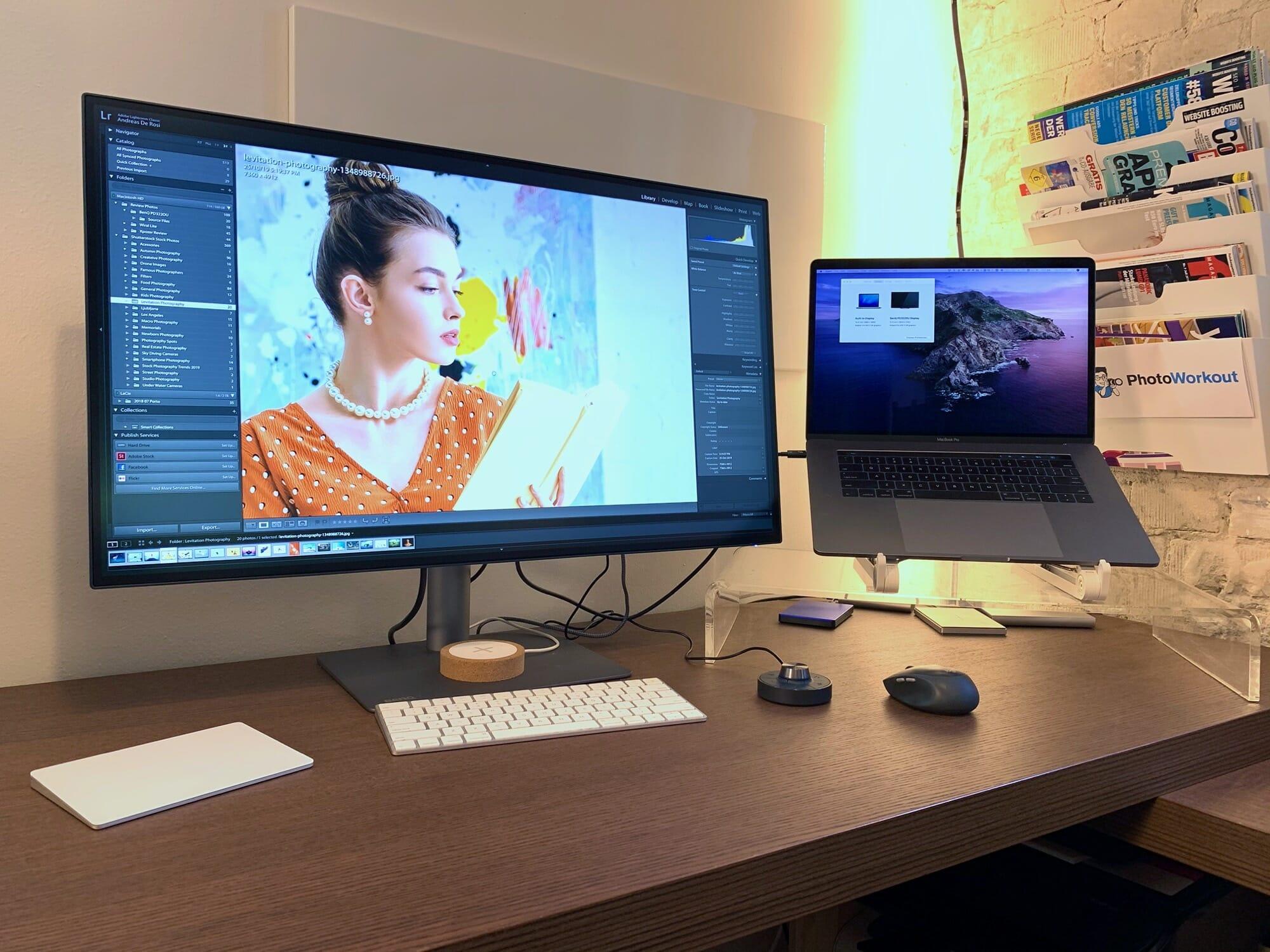 BenQ PD3220U - Beste Monitor Voor Fotobewerking (Multi kleurruimtes)