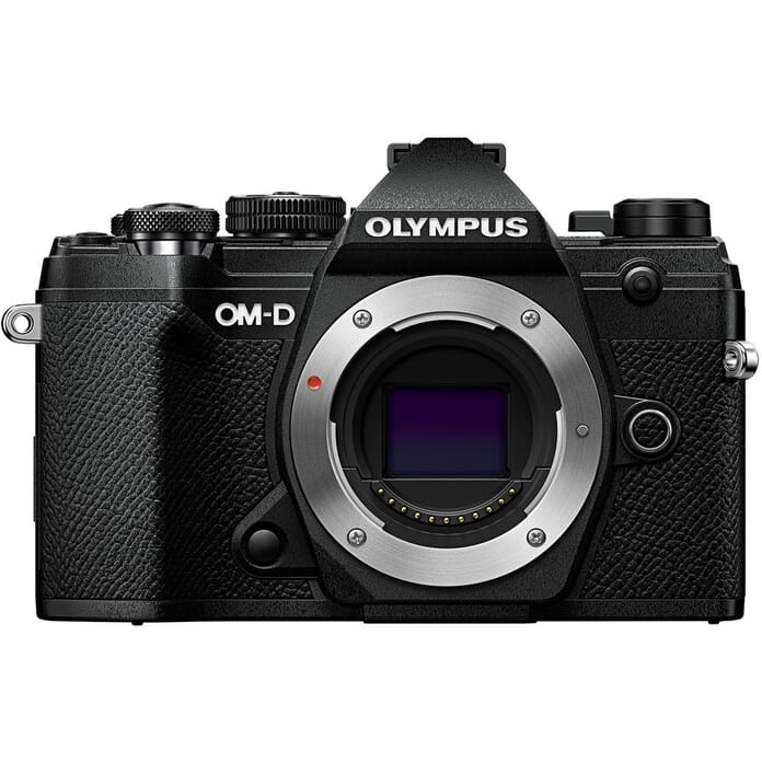 OM-D EM5 Mark III Front View