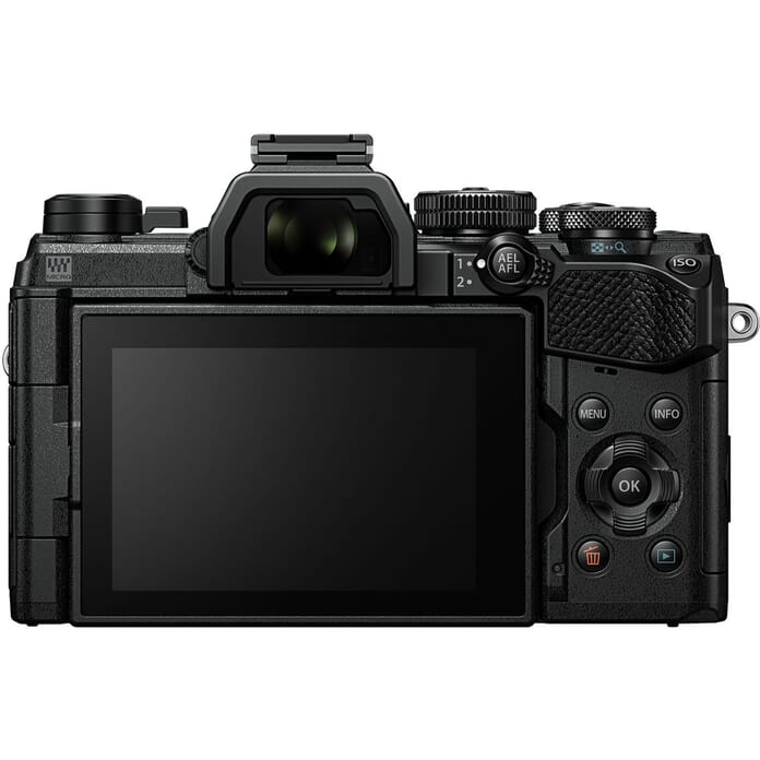 OM-D EM5 Mark III back view
