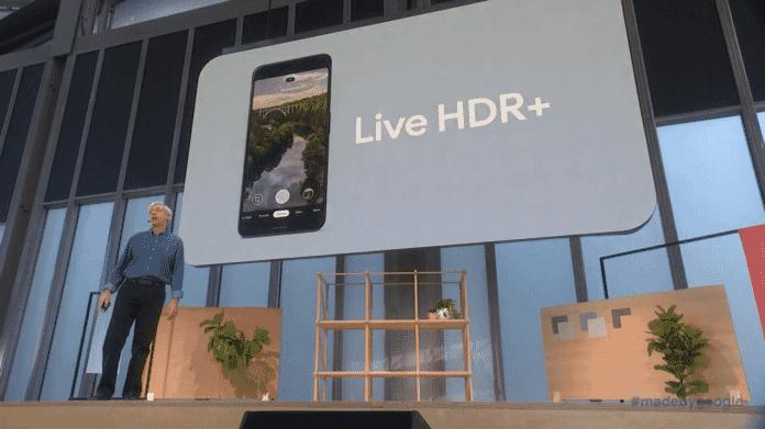 Live HDR+