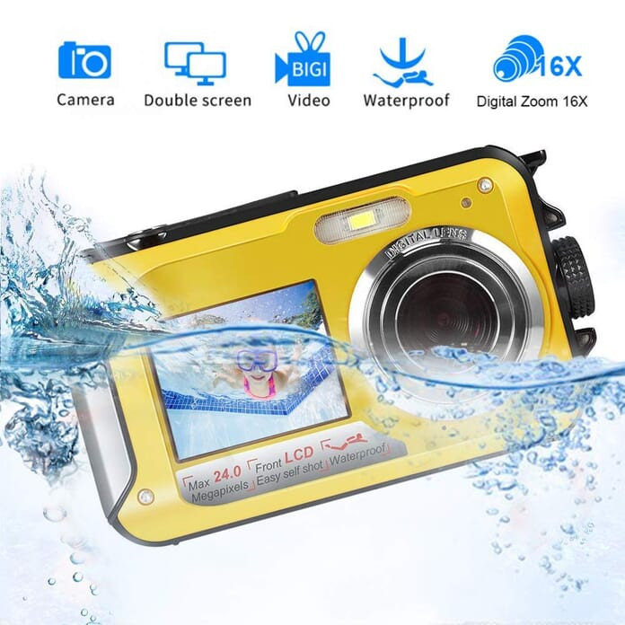 Waterproof Camera Best Point and Shoot Camera under $100