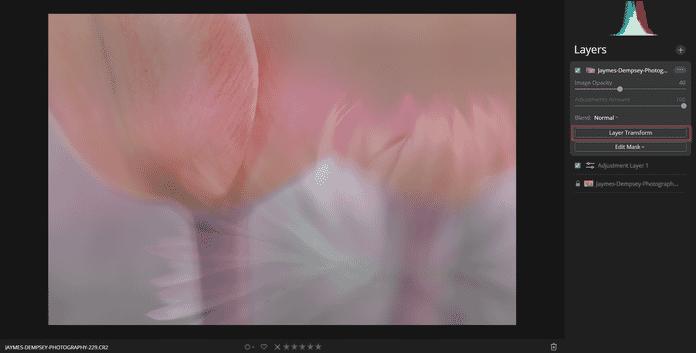 transforming layer