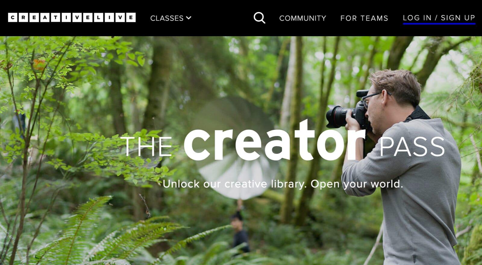 CreativeLive Creator Pass