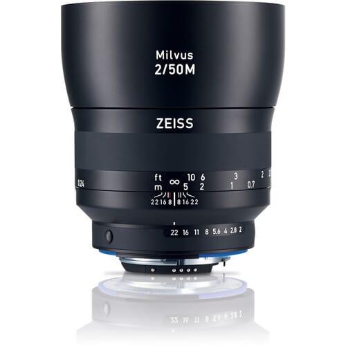 Zeiss Milvus 50mm f/2M ZF.2 Macro Lens
