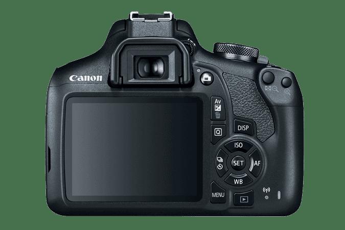nikon d3500 vs canon t7 - Canon EOS T7 rear LCD screen