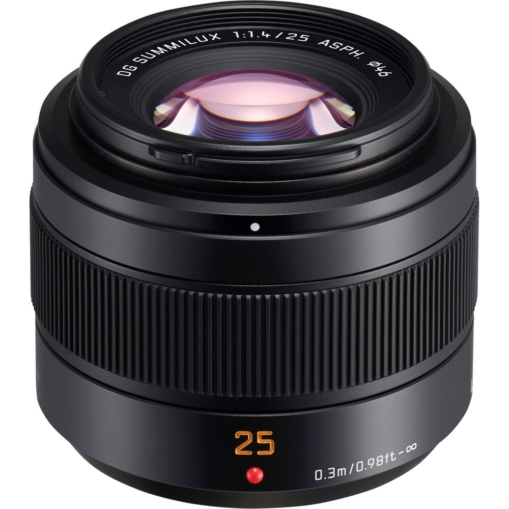 Panasonic Leica GD Summilux 25mm f/1.4 II ASPH lens