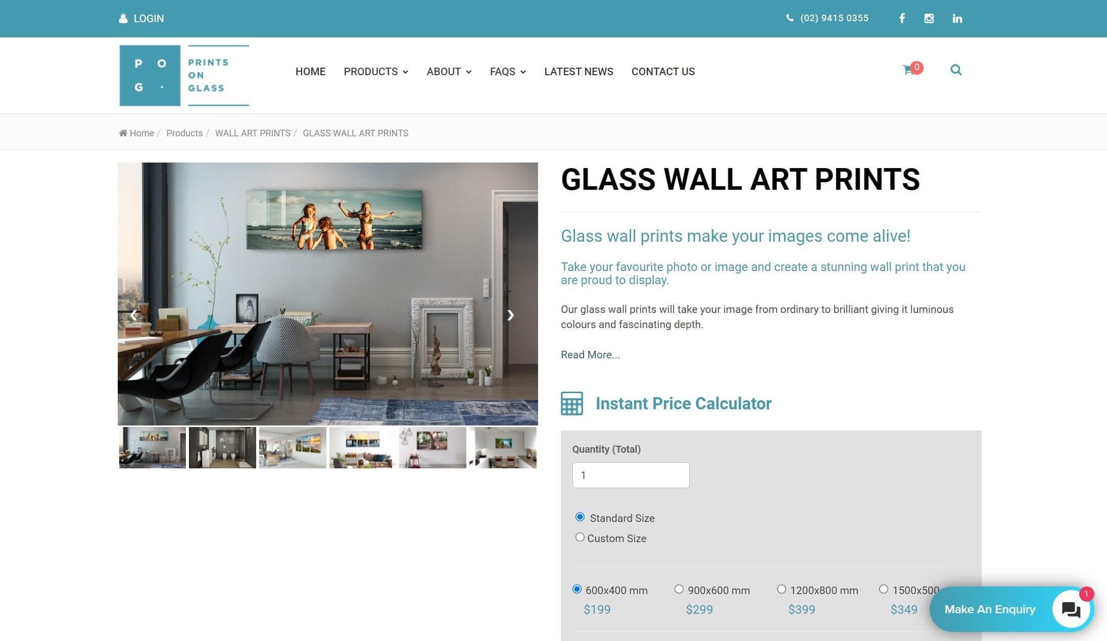 Prints on Glass